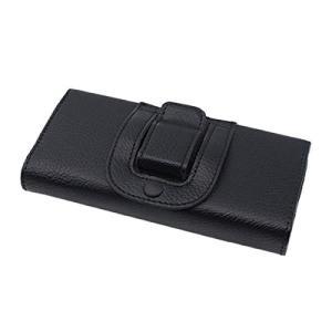 iPhone6 Plus用 フェイクレザー製 ベルトケース 《Bタイプ》 横型 ウエストポーチ スマホカバー 収納ケース _|vaps