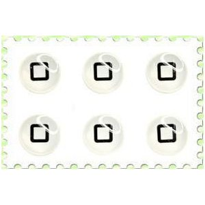 iPhone/iPad/iPod touch★デコシール★ホームボタンステッカー HBS6P-P03★ _|vaps
