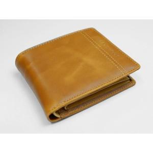 JACQUES POIRIER/ジャックポワリエ 牛革 メンズ 折財布 JP5002/JP-5002 キャメル _.|vaps