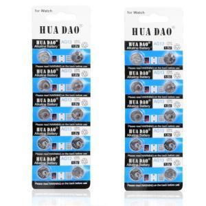 LR44電池 電卓や時計などに! LR44/AG13 ボタン電池 リチウム電池 (2シート(計20個)) _|vaps