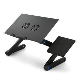 PC冷却 寝ながらデスク(PCデスク・ファン付・寝ながら、座りながら、いろんな角度でパソコンライフ) __|vaps