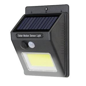 COBソーラーセンサーライト 太陽光 充電 自動点灯 人感センサー 玄関灯 LED 防犯 _|vaps