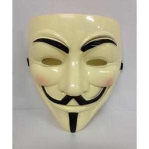 V for Vendetta/Vフォー・ヴェンデッタ ガイ・フォークス仮面 アノニマスマスク 肌色 _ vaps