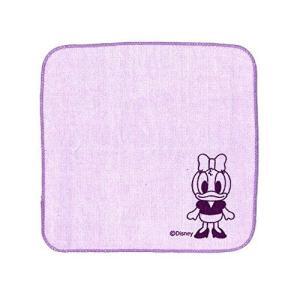 ディズニー ミニタオル 1枚入り リボン付き 20×20cm デイジー _|vaps