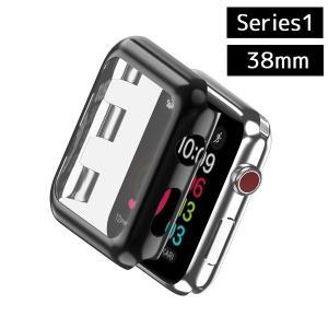 Apple Watch カバー 《Series1》 《38mm》 《ブラック》 アップルウォッチ 保護 ケース _|vaps