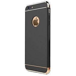 iPhone 6/6s スマホケース 《ブラック&ゴールド》  4.7インチ おしゃれ 高級感 _|vaps