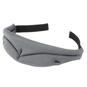 形状記憶 立体型アイマスク 《グレー》 睡眠 安眠リラックス 疲れ目 遮光性 _|vaps