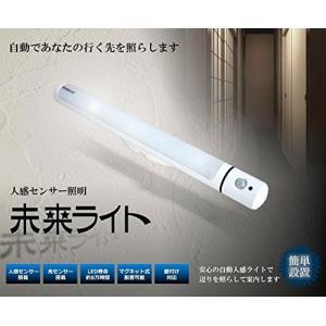 自動点灯 人感センサー照明 マグネット搭載 未来ライト 防災 _|vaps