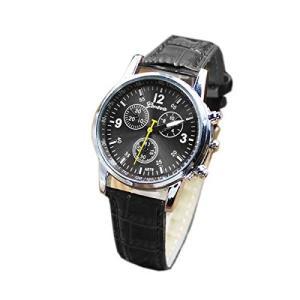 腕時計 時計 レトロカジュアルウォッチ ブラック...の商品画像
