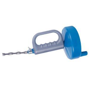 回転式 《5m》 ワイヤー パイプクリーナー トイレ 洗面所 風呂 排水 排水口 排水溝 配水管 配管 詰まり 掃除 __|vaps