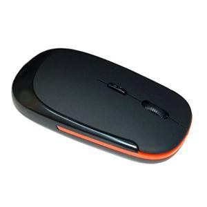 マウス 超薄型 軽量 ワイヤレスマウス ブラック BK USB 光学式 3ボタン 2.4G コンパクト マウス M3500-BKOR _