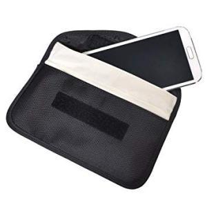 電波遮断 携帯圏外ポーチ 横型 スマホ 電話圏外 カバー ケース 収納 ポーチ iPhone スマートフォン 対応 _|vaps