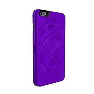 ミラー&ウォレット付 iphoneケース iphone6 Plus/6s Plus用 《パープル》 鏡 カード入 多機能ケース _|vaps