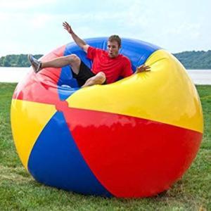 超 巨大 ビーチボール 直径2m ビーチ バレー ボール 特...