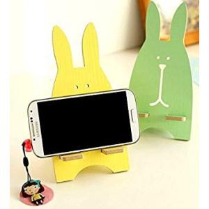 うさぎ型 スマホスタンド *カラーランダム スマートフォンスタンド iPhone 携帯 _|vaps