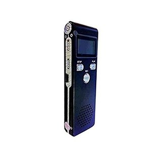 軽量ボイスレコーダー スピーカー搭載 8GB 《ブラック》 ICレコーダー _|vaps