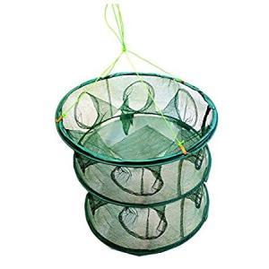 釣り用 十二手網 改 穴12個 Bタイプ 魚捕り 網かご 漁具 カニ エビ 魚 大量捕獲 仕掛け __|vaps