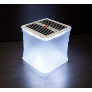 折りたたみ式 ソーラー LED ランタン 簡易防水 アウトドア キャンプ ソーラーライト _|vaps