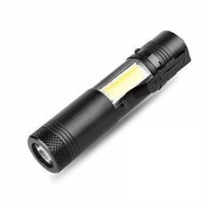 ハンディ LEDライト マフィア 懐中電灯 コンパクトライト サバゲー XM-L Q5 LED+COB _|vaps