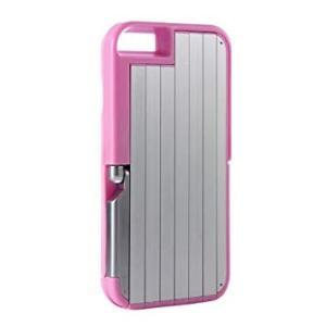 スマホケース 自撮り棒 一体型 セルフィーケース 《ピンク》 セルカ棒 スマホスタンド iPhone6Plus/6s Plus _.|vaps