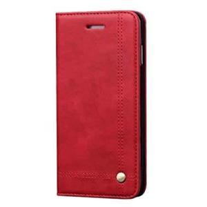 iPhone7用 レザーケース 7plus用 《ワインレッド》 手帳型 スマホケース _|vaps