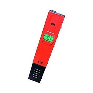 ペーハー計測器03 《レッド》 デジタルPH計 水素イオン指数 熱帯魚 水槽 液体肥料 _. vaps
