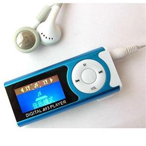 小型 長方形 MP3プレイヤー カラーランダム  _|vaps
