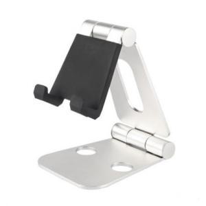 スマホ タブレット スタンド 《シルバー》 270°角度調節可能 折りたたみ iPad iPhone ホルダー 置き台 _.|vaps