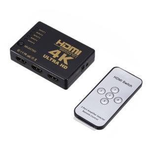 5入力1出力 HDMI切替器 リモコン付き HDMIセレクター 切り替え 分配器 4K 3D映像 _ vaps