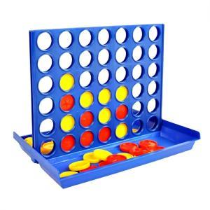 四目並べ 立体パズル 卓上ゲーム テーブルゲーム 2人対戦 知育玩具 __|vaps