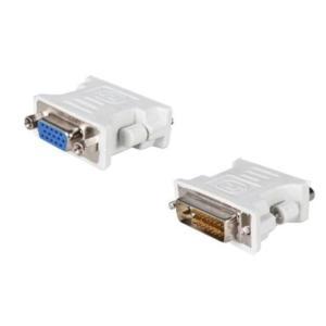 DVI - VGA 変換アダプタ DVI-D 24 + 1(オス) - VGA(メス) 15pin 変換アダプター コネクタ _ vaps