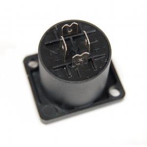 スピーカーソケット 4ピン レセプタクル 正方形 四角 コネクタ スピコン _|vaps