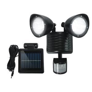 22灯 ソーラー充電式 人感センサーLEDライト 玄関灯 防犯 太陽光 照明 ライト __|vaps