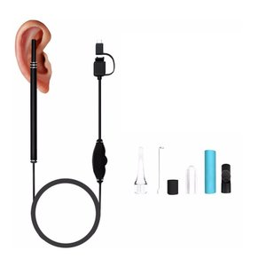 耳かきカメラ 30万画素 LED6灯 防水 スマホ 耳掃除 マイクロスコープ _.|vaps