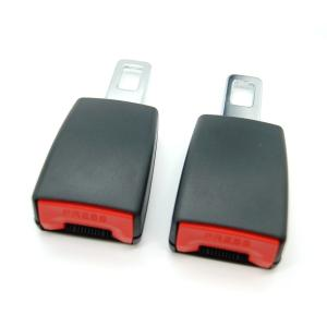 延長シートベルト 《2個セット》 車用補助ベルト バックル ベルトエクステンダー _.|vaps