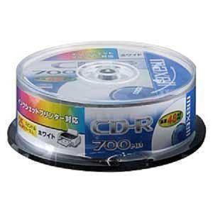 maxell データ用 CD-R 700MB 48倍速対応 インクジェットプリンタ対応 ホワイト25枚 スピンドルケース CDR700S.ST.PW25SP __|vaps