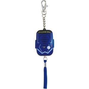 デビカ 防犯ブザー・アラーム ブルー サイズ:約W3.9×D3×H6.7cm(ストラップ・チェーンを除く) _|vaps