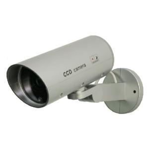 防犯対策に!◆屋外用ダミーカメラ/セキュリティカメラ/防犯カメラ __|vaps