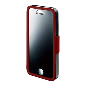 I-O DATA iPhone 5/5s用 のぞき見防止フィルム一体型プライバシーケース レッド ISC-IP5/PVR _|vaps