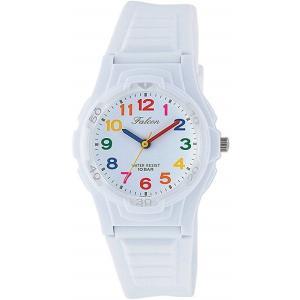 シチズン CITIZEN Q&Q 腕時計 Falcon ファルコン ウレタンベルト 10BAR 《ホワイト/マルチカラー》 VS06-001 _|vaps