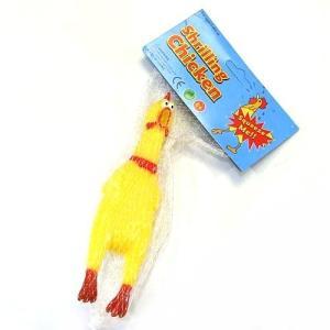 びっくりチキン シャウティングチキン 約17cm 叫ぶニワトリ にわとり 鶏 面白グッズ TORI-S _ vaps