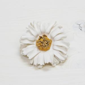 VARCO corsage m コサージュ 花 革製 フラワー モチーフ 入学式 結婚式