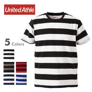 数量限定 5oz Tシャツ メンズ ボーダーT 半袖 ハイクオリティー ボールドボーダーT 5オンス...
