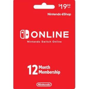 北米版(米国版) Nintendo メンバーシップ 12 Month