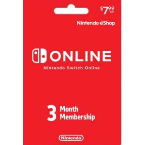 北米版(米国版) Nintendo メンバーシップ 3 Month