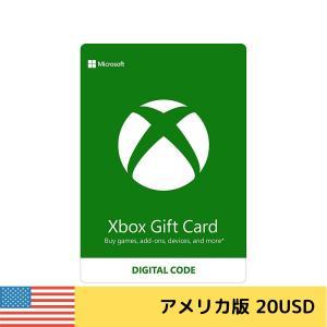 北米版(米国版) Xbox Gift Card $20 Xbox ギフトカード 20ドル 北米ストア