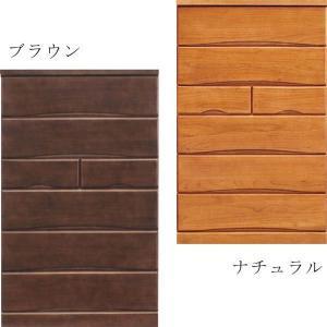 チェスト タンス ハイチェスト 幅80 6段 桐 シンプル 北欧 モダン 選べる2色 大川家具 日本製 完成品|variefurni