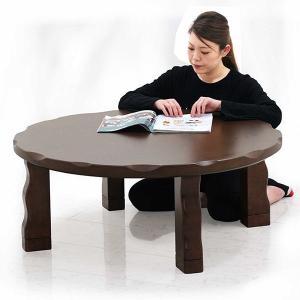 こたつ コタツ 炬燵 テーブルのみ 直径105cm 丸型 丸テーブル ナラ材 継脚 高さ調整 和風 和モダン おしゃれ 木製|variefurni