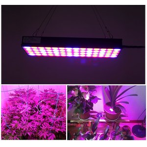 LED植物育成 植物育成ライト30W 56LED 植物育成パネル 水耕栽培ランプ LEDパネル 室内 LEDライト園芸 プラントライト