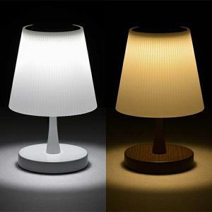 スタンドライト LED おしゃれ 卓上 タッチテーブルスタンドライト 照明器具 調光式 LED ライト タッチライト ナイトライト 子供部屋 オーム電機 昼白色 電球色|vastmart